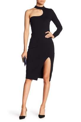 Bardot Nikki One-Shoulder Cutout Dress