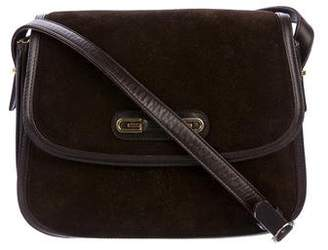 b7e130727feb Pre-Owned at TheRealReal · Gucci Vintage Suede Shoulder Bag