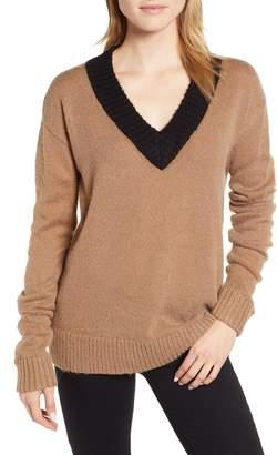 Rebecca Minkoff Arma Colorblock Sweater