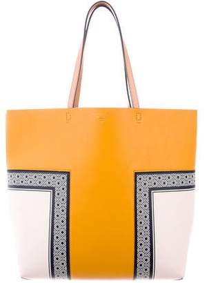Tory Burch Large Block T Tote