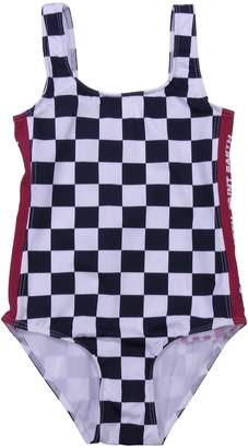 MC2 Saint Barth Chess Print Lycra One Piece Swim Suit