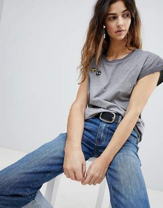 Soaked In Luxury Bee Badge T-Shirt