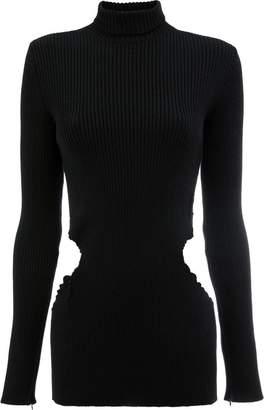 Yang Li cutout turtleneck sweater