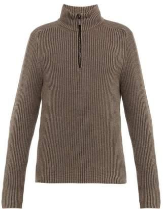 Iris von Arnim John Stonewashed Cashmere Sweater - Mens - Brown