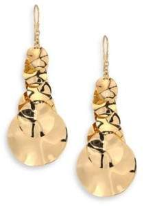 Ippolita Glamazon Hammered 18K Gold Drop Earrings
