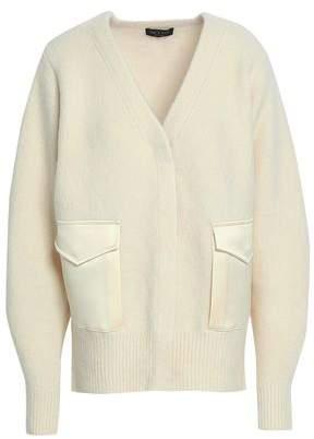 Rag & Bone Satin-Trimmed Merino Wool-Blend Jacket