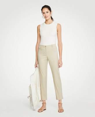 Ann Taylor The Tall Crop Pant - Curvy Fit