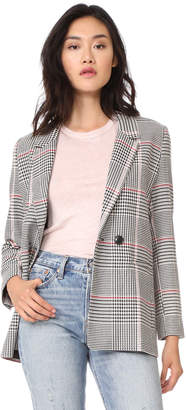 ANINE BING Plaid Blazer
