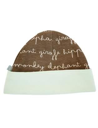Finn + Emma | Reversible Hat | Baby Unisex | | 100% Organic Cotton | 0-6m