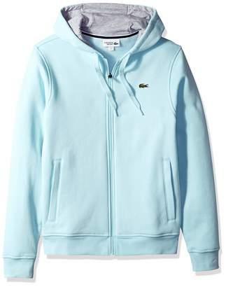 Lacoste Men's Sport Long Sleeve Fleece Full Zip Hoodie