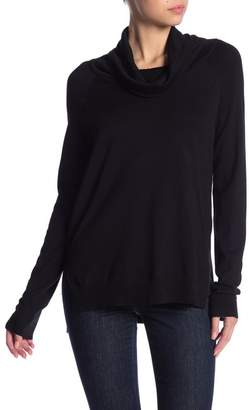 Cyrus Hi-Lo Cowl Neck Sweater