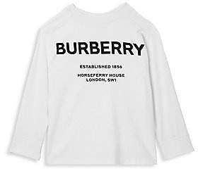Burberry Women's Little Kid's & Kid's Griffon Logo Crewneck Top