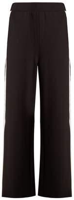 Charli Cohen - Trackpant 2s Contrast Stripe Wide Leg Track Pants - Womens - Black