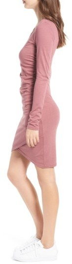Women's Leith Ruched Long Sleeve Dress 5