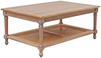 Hudson Furniture Coffee Tables Marseille Coffee Table, Weathered Oak