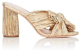 Loeffler Randall Women's Penny Knotted Lamé Sandals