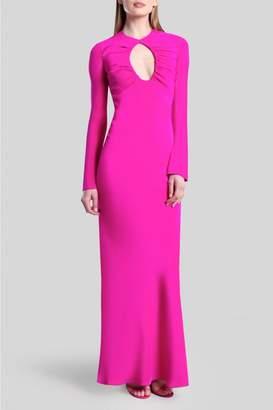Jette Joop Cushnie Fuchsia Keyhole Gown