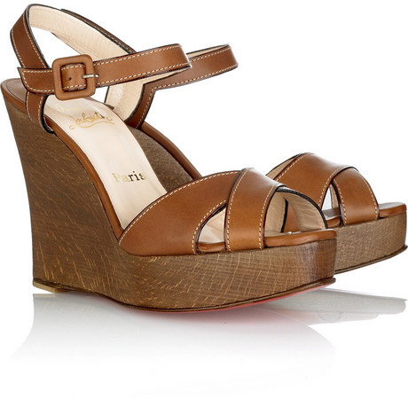 Christian Louboutin Africa Queen wedges