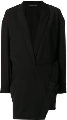 Alexandre Vauthier asymmetric zipper dress