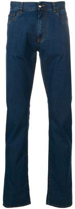 Canali straight-leg jeans