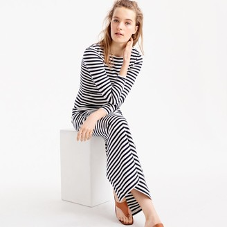 Long-sleeve striped dress $98 thestylecure.com