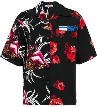 Prada floral short-sleeve shirt