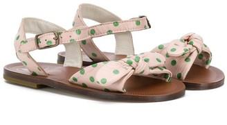 Pépé Kids bow tie sandals