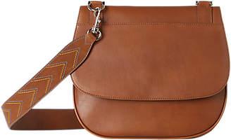 Gerard Darel You Leather Satchel Bag, Camel