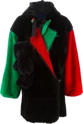 JC de CASTELBAJAC Pre-Owned teddy bear oversized coat