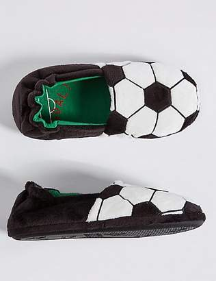 Marks and Spencer Kids' Football Slippers (13 Small - 7 Large)