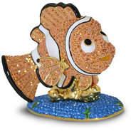 Disney Jeweled Finding Nemo Figurine by Arribas -- Nemo