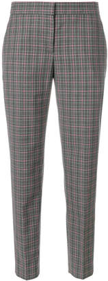 Paul Smith plaid cropped tapered trousers