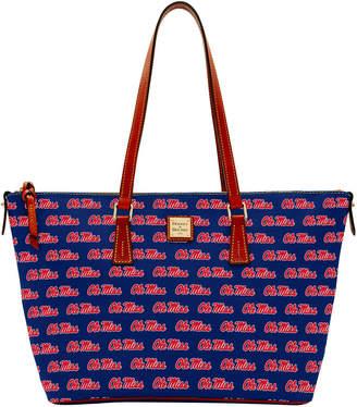 Dooney & Bourke NCAA Ole Miss Zip Top Shopper