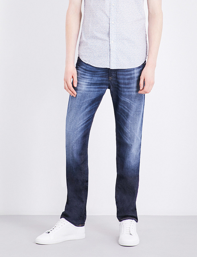 Diesel Diesel Buster slim-fit tapered jeans