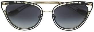 Bulgari Serpenti cat eye sunglasses