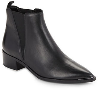 Marc Fisher Ltd Yale Leather Chelsea Boots $179 thestylecure.com