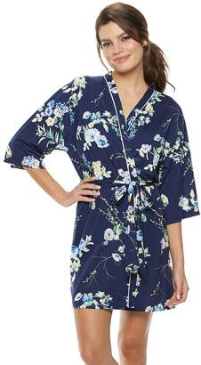 Flora Nikrooz Flora By Women's Flora by Floral Wrap Robe