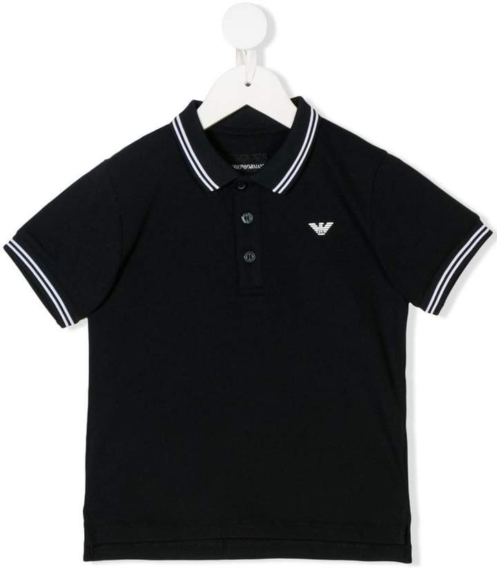 Emporio Armani Kids 8N4F301JPTZ0939 NAVY Natural (Veg)->Cotton