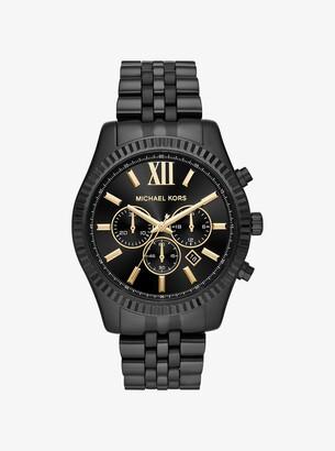 Michael Kors Lexington Black-Tone Watch