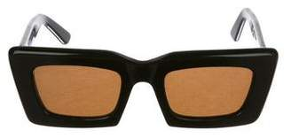 Chloé Tinted Square Sunglasses