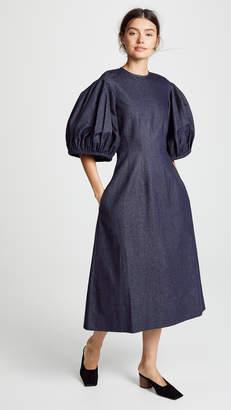 Edit Balloon Sleeve Dress