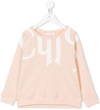 Chloé Kids jersey sweater