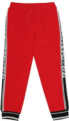 Dolce & Gabbana Stretch cotton trackpants