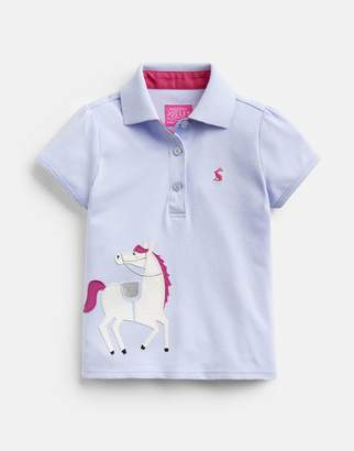 Joules YORKSHIRE SKY 204607 Polo Shirt Size 6yr