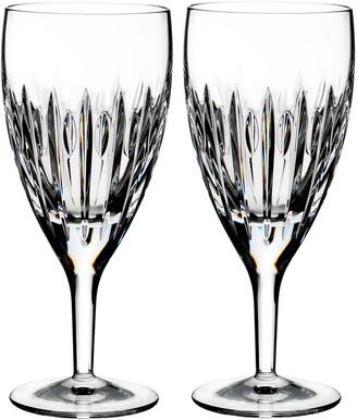 Waterford Crystal Mara Crystal Iced Beverage Glasses, Set of Two