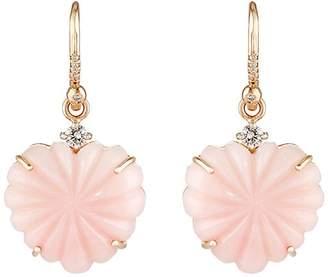 Irene Neuwirth Women's Heart-Drop Earrings
