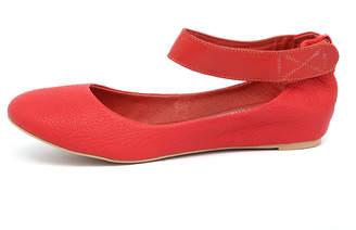 Django & Juliette Plush-dj Tangerine Shoes Womens Shoes Casual Flat Shoes