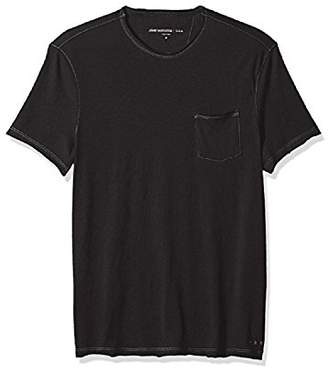 John Varvatos Men's Short Sleeved Crewneck With Pocket