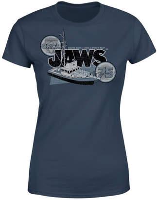Orca Jaws 75 Women's T-Shirt - Navy