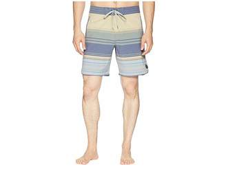 United By Blue Sea Bed Scallop Boardshorts Men's Swimwear